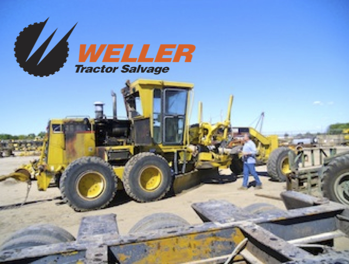 Used Tractor Parts Salvage Yards : Weller tractor salvage