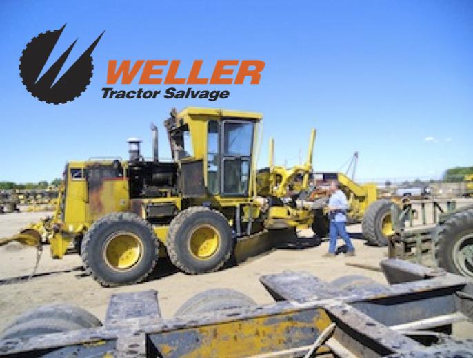 Tractor Equipment Salvage Yards : Weller tractor salvage